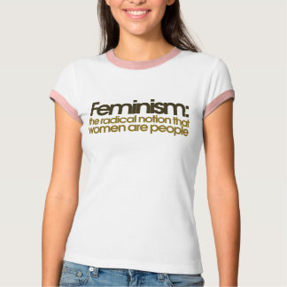 Definición feminista camisetas