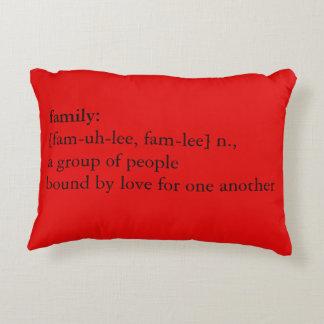 Definición roja y verde de la familia del navidad