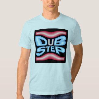 Deformación de neón del altavoz de DUBSTEP Camiseta