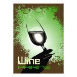 Degustación de vinos que empareja el ~ 5 x 7 elega comunicados personalizados