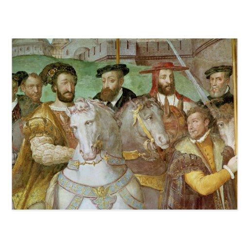 Dei Fasti Farnese de Sala Tarjeta Postal