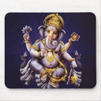 Deidad hindú del elefante asiático de Ganesh Alfombrilla De Ratón