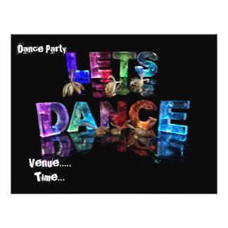 Deja danza folleto 21,6 x 28 cm