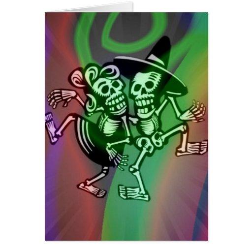 deja la danza colorida tarjetas