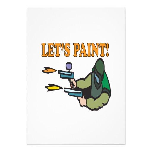 Deja la pintura comunicado personal