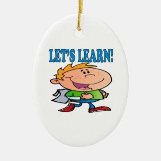 Deja para aprender 3 adorno