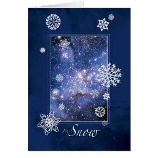 Dejáis le nevar con la nube de Magellanic grande - Tarjeta