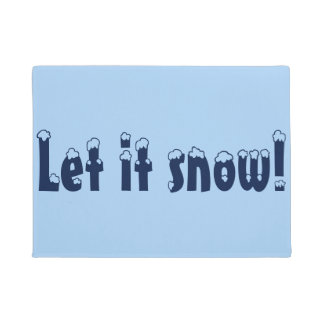 Dejáis le nevar estera de puerta