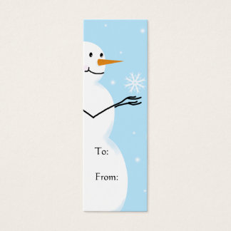 Dejáis le nevar etiquetas del regalo