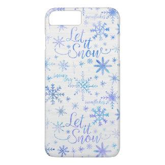 Dejáis le nevar modelo del invierno funda iPhone 7 plus