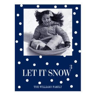 Dejáis le nevar postal de la foto del día de