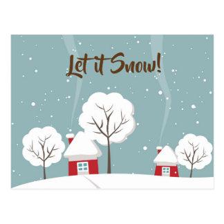 Dejáis le nevar postales