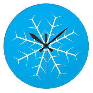 Dejáis le nevar reloj congelado