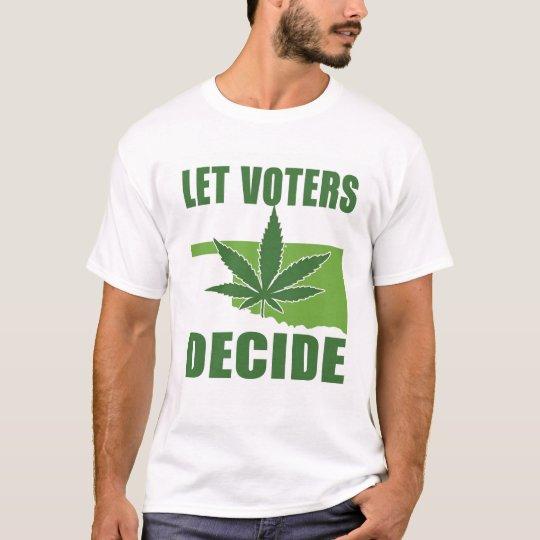 Deje a los votantes decidir la camiseta para