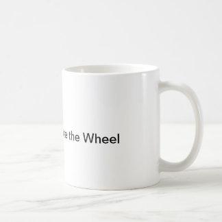 Deje Darwin tomar la taza de la rueda