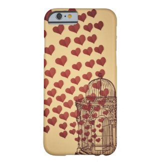 Deje el amor libre funda para iPhone 6 barely there