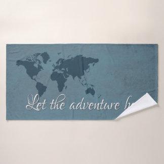 Deje la aventura comenzar