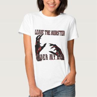 Deje la camiseta de la cólera de los
