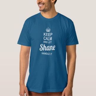 Deje la manija de Shane él Camisas