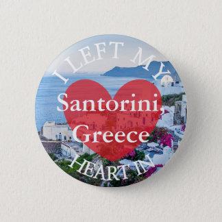 Dejé mi corazón en el botón de Santorini Grecia