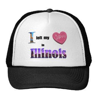 Dejé mi corazón en Illinois - ame el gorra del