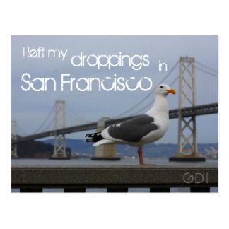 Dejé mis excrementos en San Francisco Postal