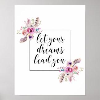Deje su ventaja de los sueños usted impresión