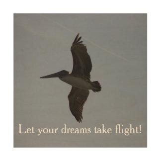 Deje sus sueños tomar el vuelo - impresión de