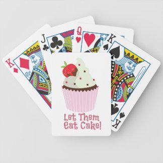 ¡Déjelos comer la torta! Cartas De Juego