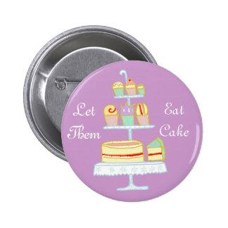 Déjelos comer la torta chapa redonda de 5 cm