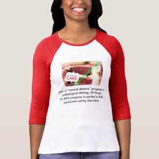 Déjelos comer la torta sin culpabilidad o miedo camiseta