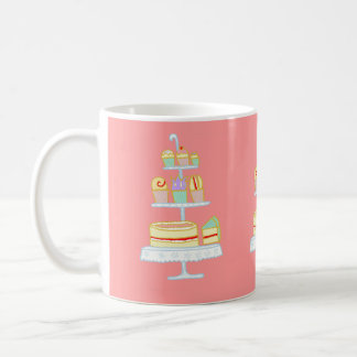 Déjelos comer la torta taza
