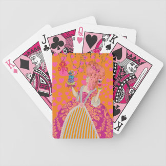Déjelos comer los naipes #12 del ~ de la torta baraja de cartas