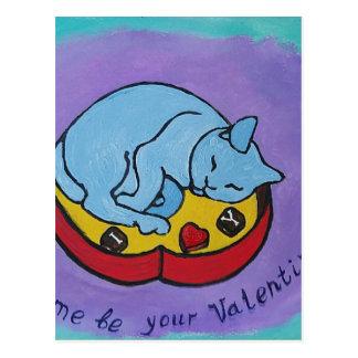 Déjeme ser su tarjeta del día de San Valentín