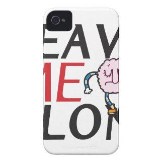 Déjeme solo iPhone 4 Case-Mate cárcasas