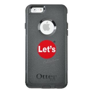 ¡Déjenos arte/logotipo de la colección por las Funda Otterbox Para iPhone 6/6s