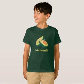 Déjenos humor lindo divertido del retruécano de camiseta