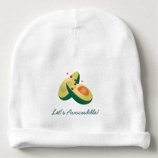 Déjenos los aguacates lindos divertidos de gorrito para bebe