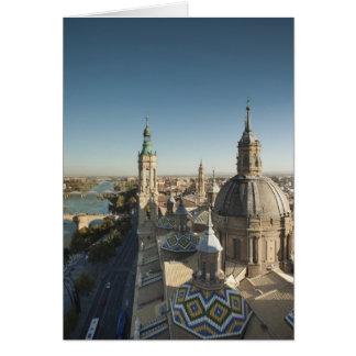 Del 2 Pilar de Basilica de Nuestra Senora Tarjeta De Felicitación
