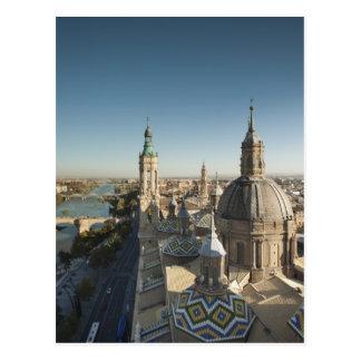 Del 2 Pilar de Basilica de Nuestra Senora Tarjetas Postales