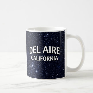 Del Aire California Tazas De Café