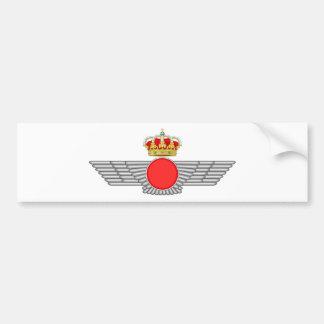 Del Aire de España del EL Ejército Etiqueta De Parachoque