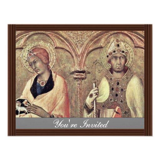 Del Altarpiece Predellatafel tercer de Pisa de Rig Comunicado Personal