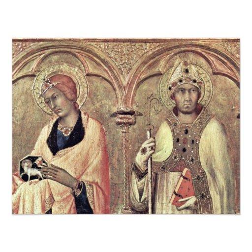 Del Altarpiece Predellatafel tercer de Pisa de Rig Comunicado Personalizado