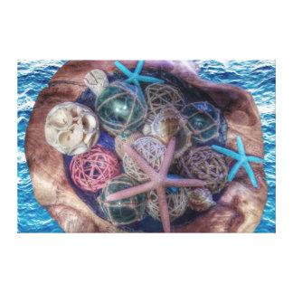 ❤️ del amor del océano lienzo