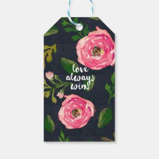 Del amor los triunfos siempre/el regalo de Fleur Etiquetas Para Regalos