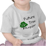 Del árbol de Hugger camiseta elegante futura ambie