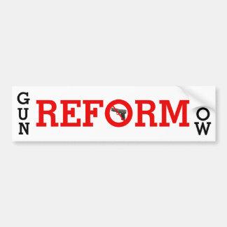 Del arma de la reforma pegatina para el