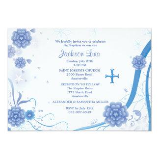 Del azul invitación eternamente invitación 12,7 x 17,8 cm