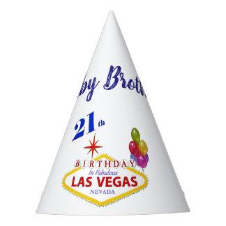 Del bebé 21ro Las Vegas gorra de la fiesta de